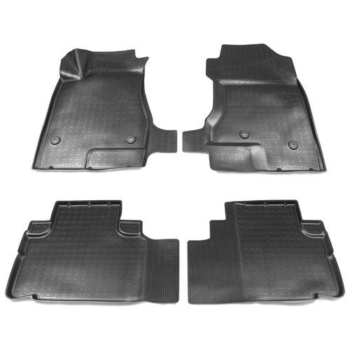 Комплект ковриков NorPlast NPA10-C28-350 Haval H6 4 шт. черный