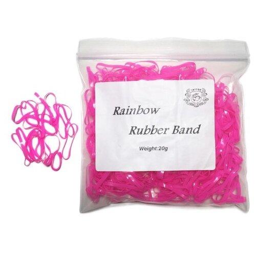 Уплотнительные кольца AVA Rainbow TS082 250 шт. розовый