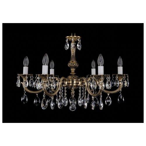 Люстра Bohemia Ivele Crystal 1702 1702/6/250/A/GB, E14, 240 Вт часы 14 6 см crystal bohemia