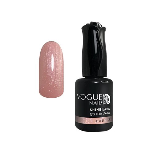 Vogue Nails базовое покрытие Shine база для гель-лака 18 мл base 3 vogue nails базовое покрытие shine база для гель лака 30 мл base 5