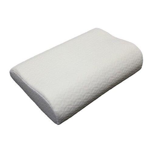 Подушка EcoSapiens Memory с эффектом памяти 32 х 50 см белый подушка для путешествий travel blue tranquility pillow с эффектом памяти цвет фиолетовый 28 х 27 х 12 см