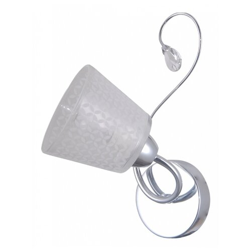 цена на Настенный светильник Natali Kovaltseva 76057/1W Chrome, 40 Вт