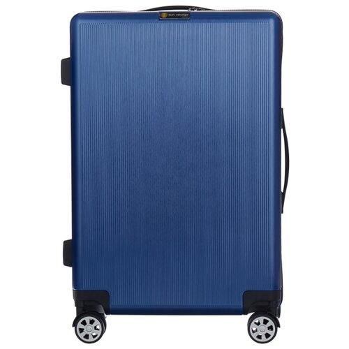 Чемодан Sun Voyage BOX M 68 л, indigo чемодан sun voyage sv034 ac133 m