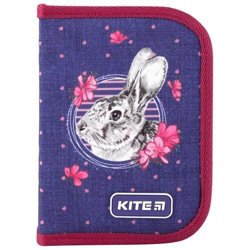 Kite Пенал (K19-622-3) синий/розовый action пенал цвет синий розовый