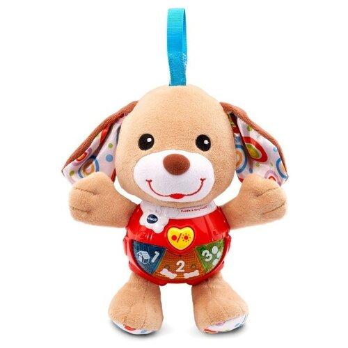 Развивающая игрушка VTech Поющий щенок, коричневый/красный