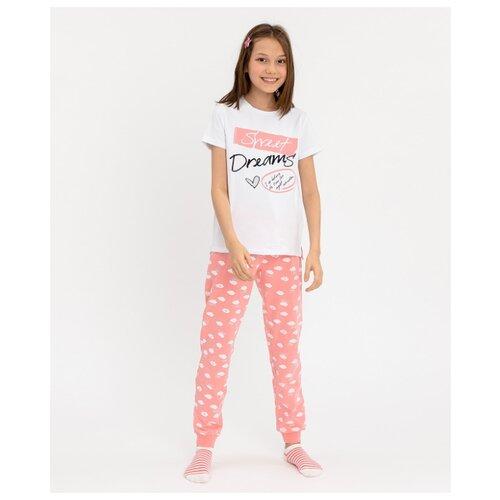 Фото - Пижама Button Blue размер 104-110, розовый сорочка button blue размер 104 110 розовый