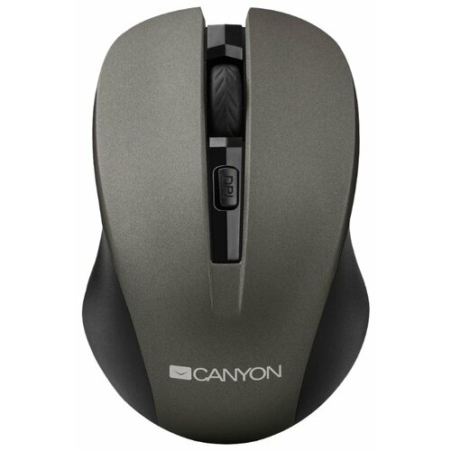 Мышь Canyon CNE-CMSW1G Grey USB мышь canyon cne cmsw1 синий