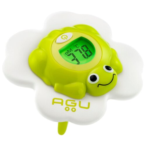 Фото - Электронный термометр AGU Froggy TB4 белый/зеленый термометр электронный and dt 624 корова синий белый