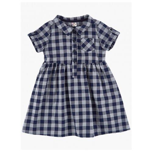 Купить Платье Mini Maxi размер 110, синий/серый, Платья и сарафаны
