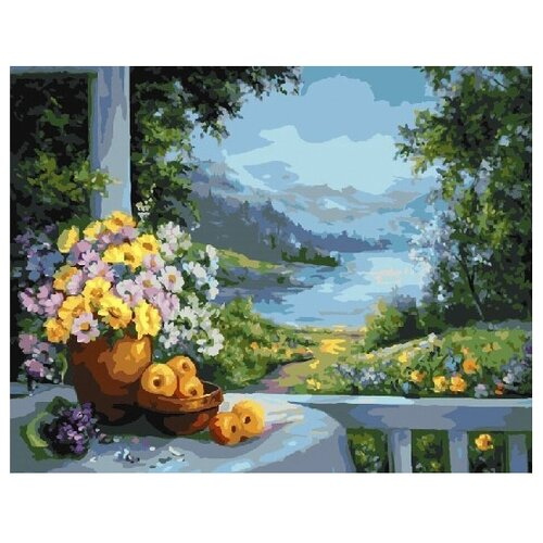 Купить ВанГогВоМне Картина по номерам Лето , 40х50 см (ZX 21745), Картины по номерам и контурам