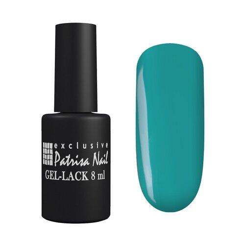 Гель-лак для ногтей Patrisa Nail Авангард, 8 мл, 343 темно-бирюзовый patrisa nail гель лак авангард 363