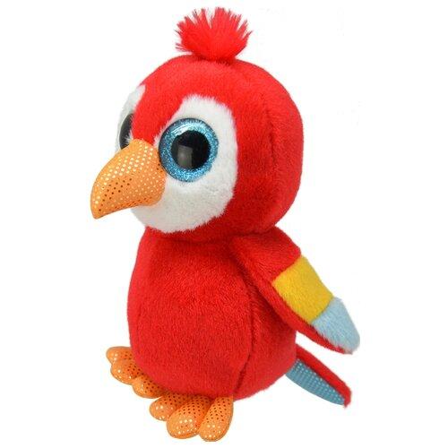 Мягкая игрушка Wild Planet Попугай 15 см.