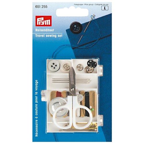 Купить Prym Дорожный набор для шитья белый/прозрачный, Инструменты и аксессуары