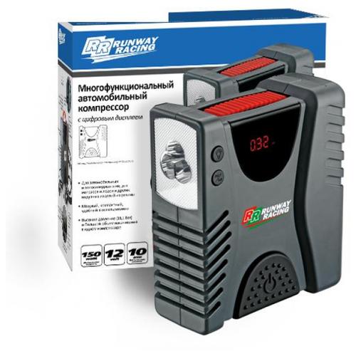 Автомобильный компрессор RUNWAY RACING RR2213 серый