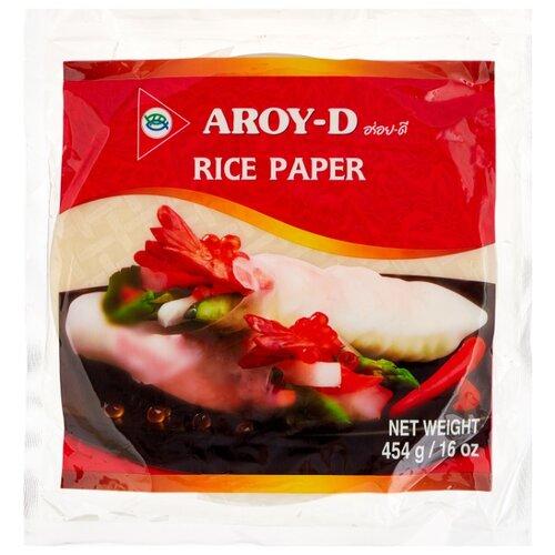Aroy-D Рисовая бумага круглая (22 см, 50 листов) , 454 г