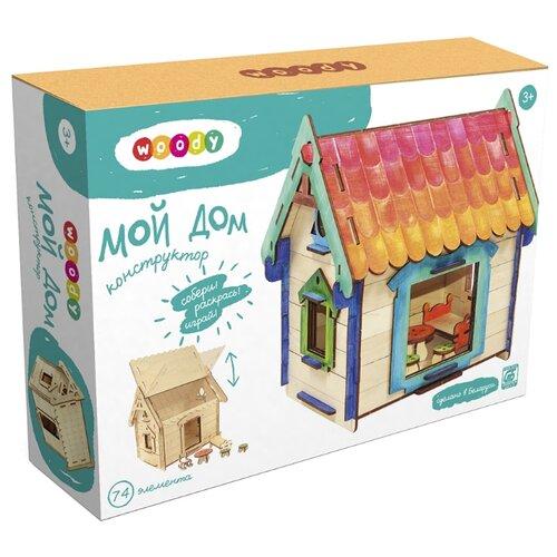 Купить Сборная модель Woody Мой дом, Сборные модели