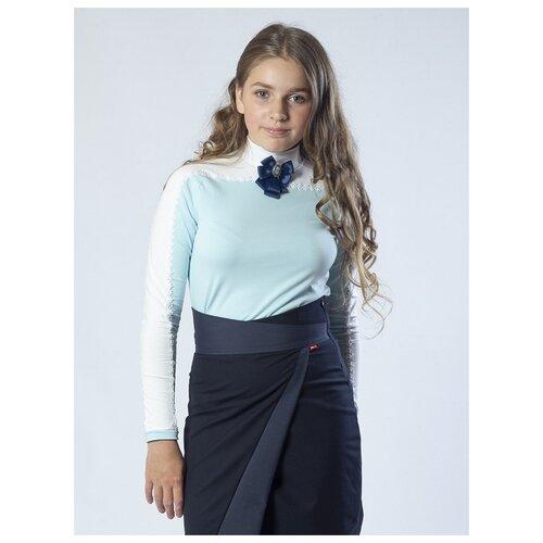 Купить Водолазка Nota Bene размер 122, голубой, Свитеры и кардиганы