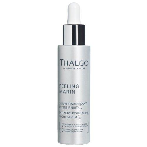 Thalgo Peeling marin Intensive resurfacing night serum интенсивная обновляющая ночная сыворотка для лица, 30 мл skincode essentials intensive lifting serum сыворотка интенсивная подтягивающая 30 мл