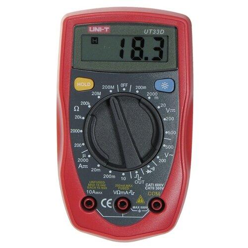 Мультиметр UNI-T UT33D мультиметр uni t ut612