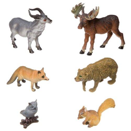 BONDIBON Ребятам о зверятах - Дикие животные ВВ3136 bondibon ребятам о зверятах дикие животные вв3136