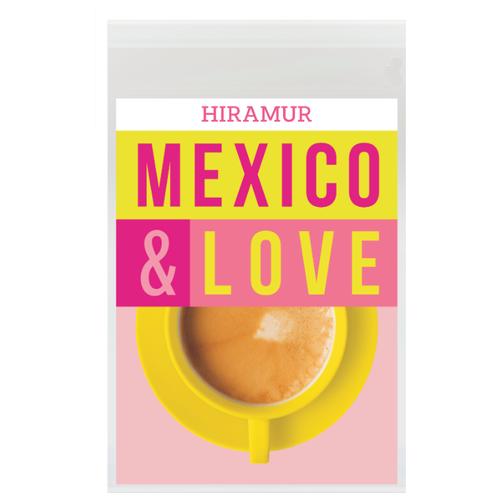 Кофе в зернах Hiramur Mexico & Love, арабика, 200 г