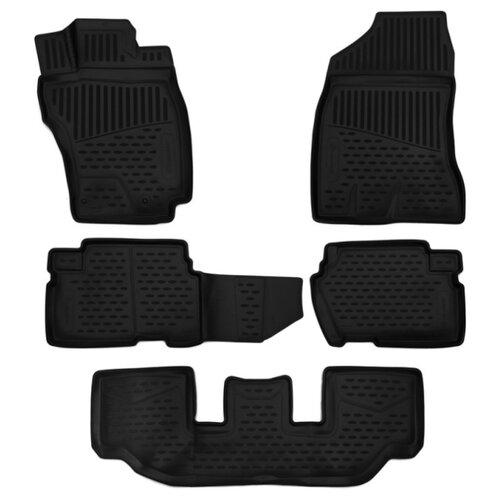 Комплект ковриков ELEMENT 3D48142210 для Totota Wish 5 шт. черный