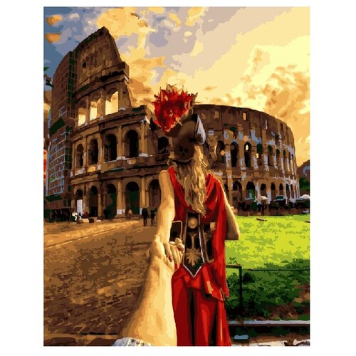 Купить ВанГогВоМне Картина по номерам Следуй за мной. Рим , 40х50 (ZX 20413), Картины по номерам и контурам