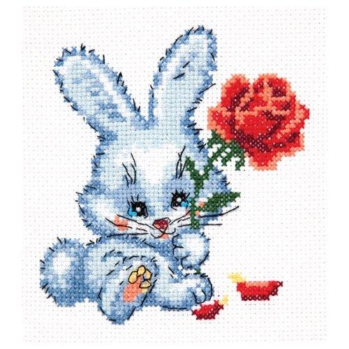 Чудесная Игла Набор для вышивания Зайчишка 11 х 12 см (18-48) набор для вышивания крестом чудесная игла утопаю в любви 13 х 12 см
