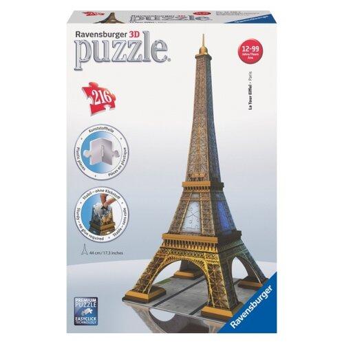 Купить 3D-пазл Ravensburger Эйфелева башня , 216 эл. (12556), Пазлы