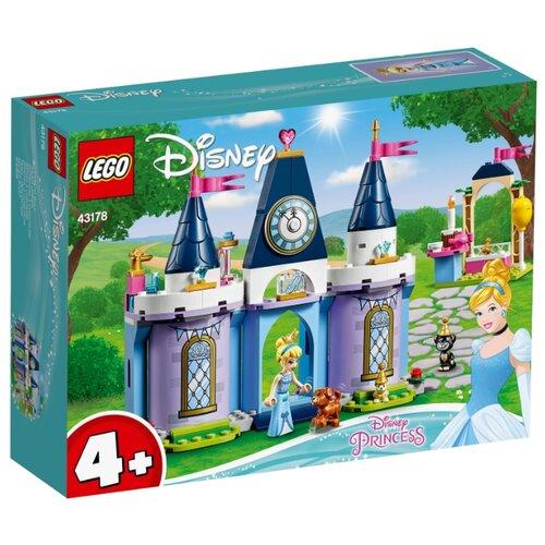 Конструктор LEGO Disney Princess 43178 Праздник в замке Золушки lego disney princess 43178 конструктор лего принцессы дисней праздник в замке золушки