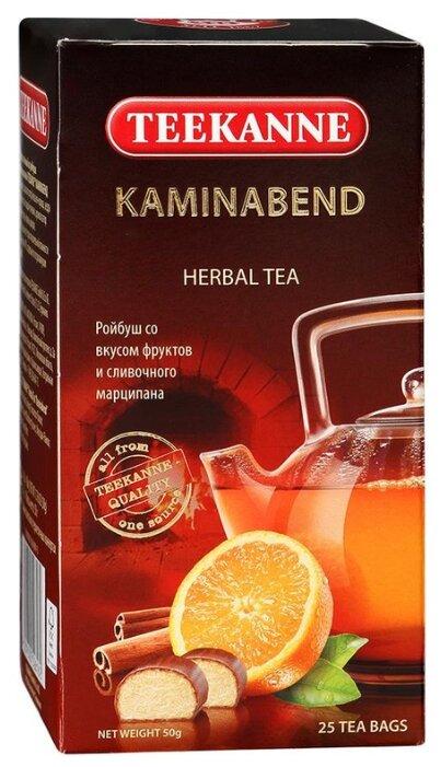 Чай TEEKANNE Kaminabend ройбуш, апельсин, корица 20 пак.
