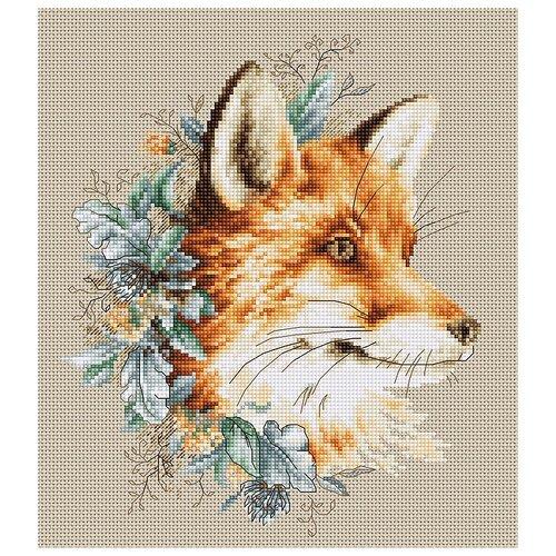 Фото - Набор для вышивания Лиса, Luca-S bu4022 набор для вышивания хижина в лесу 43 5 40см luca s