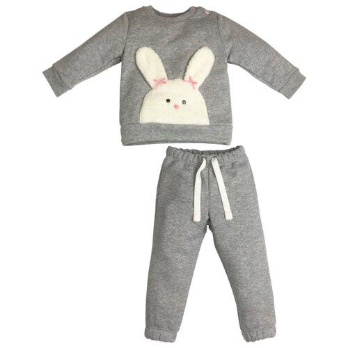 Комплект одежды Sonia Kids размер 98, серый меланж