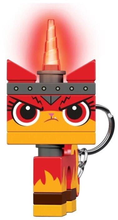 Брелок-фонарик для ключей LEGO LGL-KE147 MOVIE 2 - Angry Kitty