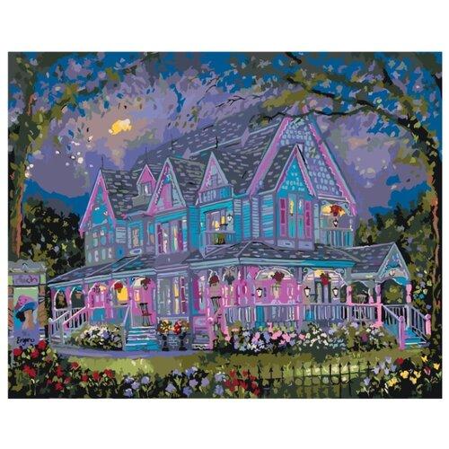Купить Коттедж для большой семьи Раскраска по номерам на холсте Живопись по номерам RF06 40х50, Картины по номерам и контурам