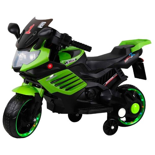 CITY-RIDE Мотоцикл CR051 зеленый набор big city lights зеленый