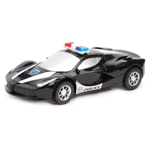 Купить Легковой автомобиль Fenghui Toys Полиция (138A-66) 29 см черный, Радиоуправляемые игрушки