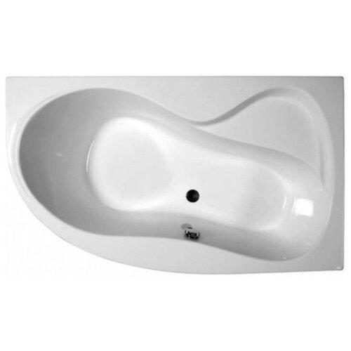 Ванна RAVAK Rosa 95 160x95 без гидромассажа акрил угловая правосторонняя ванна отдельностоящая ravak rosa 95 150x95 без гидромассажа акрил угловая правосторонняя