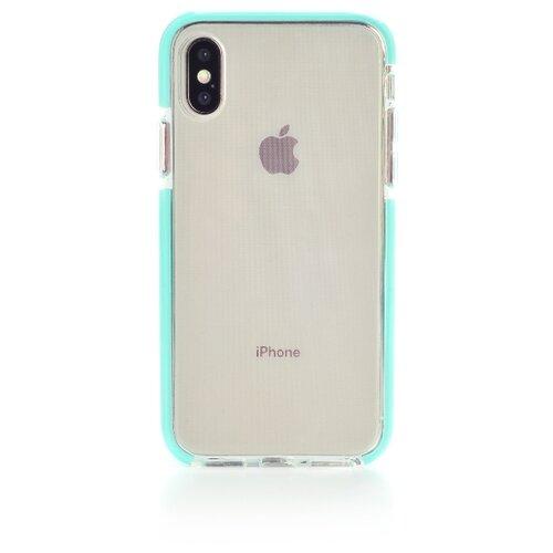 цена на Чехол Gurdini Crystal Ice для Apple iPhone X/Xs мятный