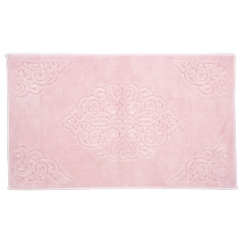 Коврик Arya Ala TRK111300020651, 60х100 см пудра розовый полотенца arya комплект из 6 ти полотенец arya birdy 30 30 см бело розовый