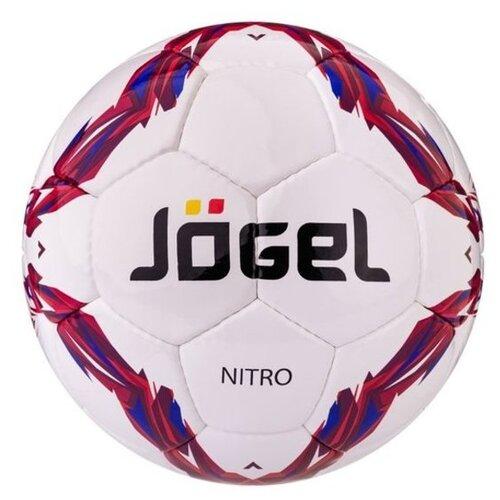 Фото - Футбольный мяч Jogel Nitro JS-710 белый/красный/синий 5 мяч jogel js 510 kids 3 ут 00012406
