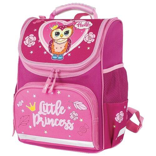 Пифагор ранец Basic Owl Princess (228809), розовый недорого