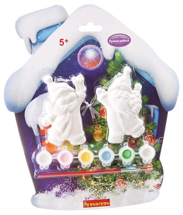 BONDIBON Набор для росписи Елочные украшения Снеговичок