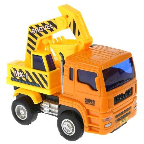 цена Экскаватор Lefei Power Truck (1507A083) желтый/оранжевый онлайн в 2017 году