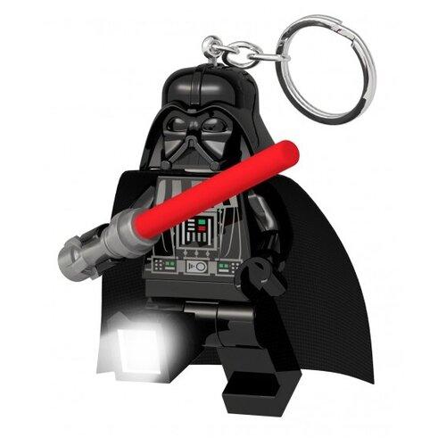 Брелок-фонарик LEGO LGL-KE121, черный брелок фонарик lego lgl ke65 красный