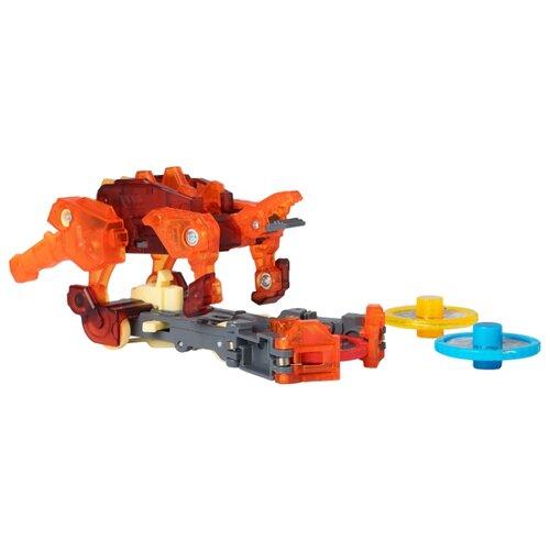 Интерактивная игрушка трансформер РОСМЭН Дикие Скричеры. Линейка 2. Спайкстрип (34828) красный росмэн росмэн ранец эргономичный миньоны красный