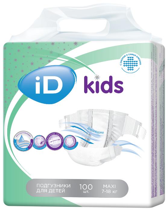 ID подгузники Kids Maxi (7 18 кг)
