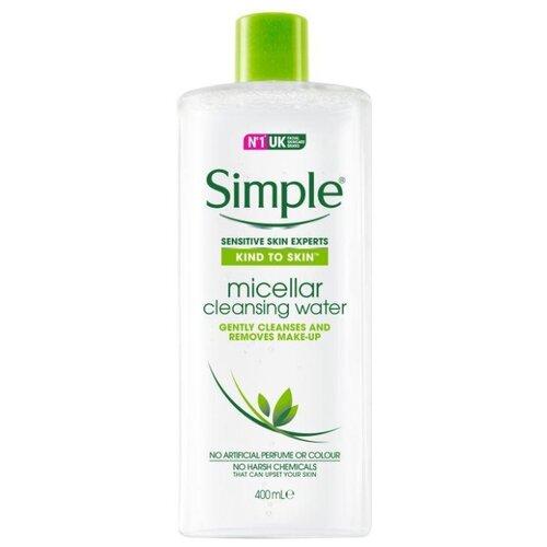 Купить Simple мицеллярная вода Kind to Skin Micellar Cleansing Water, 400 мл