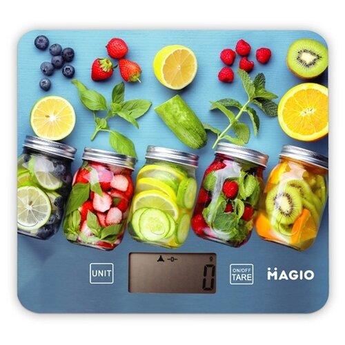 Кухонные весы Magio MG-796 многоцветный кухонные весы magio mg 797