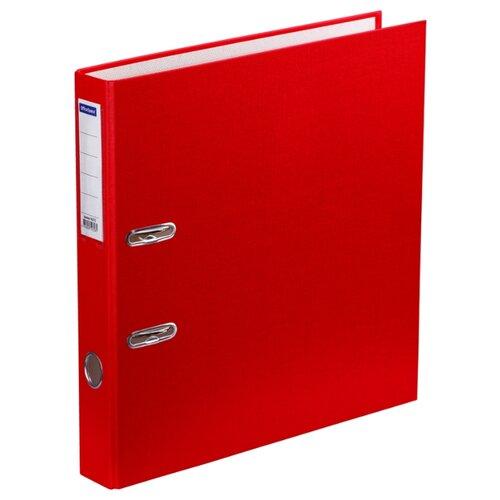 Купить OfficeSpace Папка-регистратор с карманом на корешке A4, бумвинил, 50 мм красный, Файлы и папки